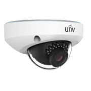 UNV 4MP Vandal-resistant IR Fixed Mini Dome Camera, Built-in Mic