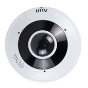 UNV 12MP Ultra HD Vandal-resistant Fisheye Fixed Dome Camera