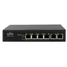 UNV 4 x PoE + 2 x UpLink 100Mbps PoE Switch