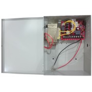 Power Supply Device w/Battery Charger in Metal Housing (Battery not included)