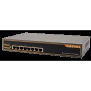 8 Port 1000Mbps PoE Switch
