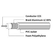 RG59 Coaxial Cable, 20% CCS, 300m